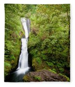 1418 Bridal Veil Falls Fleece Blanket