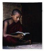 Bagan - Myanmar Fleece Blanket
