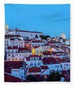 Lisbon, Portugal Fleece Blanket
