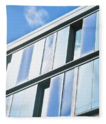 Modern Architecture Fleece Blanket