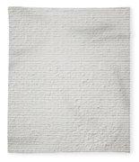 Stone Background Fleece Blanket