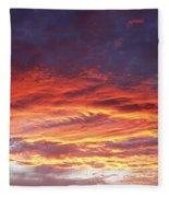 Summer Sky Fleece Blanket