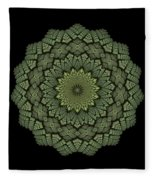 15 Symmetry Celery Bulb Fleece Blanket