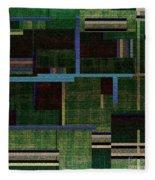 1522 Abstract Thought Fleece Blanket