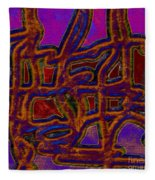 1554 Abstract Thought Fleece Blanket