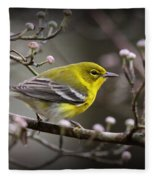 1574 - Pine Warbler Fleece Blanket