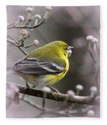 1575 - Pine Warbler Fleece Blanket