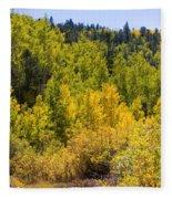 Crystal Creek Autumn Fleece Blanket