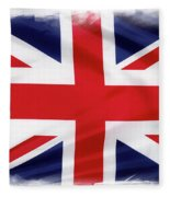 Union Jack Fleece Blanket
