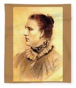 16452 Nicanor Pinole Fleece Blanket