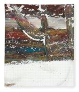 Abstract Fleece Blanket