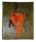 16937 Amedeo Modigliani Fleece Blanket