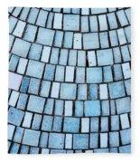 Blue Tiles Fleece Blanket