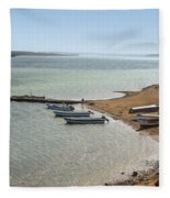 Colombia La Guajira Playa La Boquita  Fleece Blanket