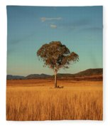 Country Agricultural And Farming Field. Fleece Blanket