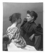 Helen Adams Keller Fleece Blanket