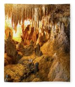 Onondaga Cave Formations Fleece Blanket