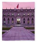 Santiago De Chile Fleece Blanket