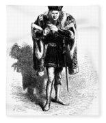 Shakespeare: Richard IIi Fleece Blanket
