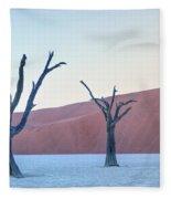 Sossusvlei - Namibia Fleece Blanket