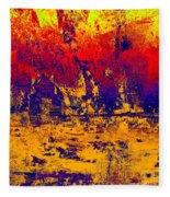 1745 Abstract Thought Fleece Blanket