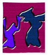 1771 Abstract Thought Fleece Blanket