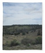Concho Landscape Fleece Blanket