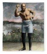 Jack Johnson, 1878-1946 Fleece Blanket