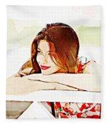 Mood Fleece Blanket