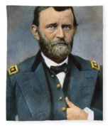 Ulysses S. Grant (1822-1885) Fleece Blanket