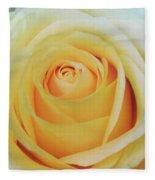 18 Yellow Roses Fleece Blanket