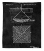 1869 Fishnet Patent Fleece Blanket