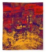 1872 Abstract Thought Fleece Blanket