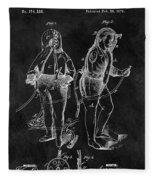 1876 Fireman Suit Patent Fleece Blanket