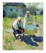 1893 Sergey Vinogradov Fleece Blanket