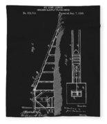 1896 Water Roller Coaster Fleece Blanket