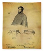 1897 Barber Apron Fleece Blanket