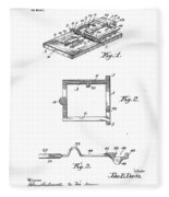 1898 Animal Mouse Trap Fleece Blanket