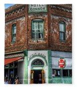 1898 Hotel Connor - Jerome Arizona Fleece Blanket