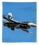18th Aggressor Sgn Viper Pulling Up Trailing Vapes Fleece Blanket