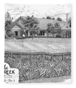 18th Hole - Deercreek Country Club Fleece Blanket