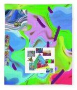 6-19-2015dabcdefghijkl Fleece Blanket