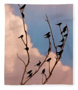 19 Blackbirds Fleece Blanket