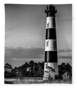 Bodie Island Lighthouse Obx Cape Hatteras North Carolina Fleece Blanket