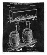 1900 Beer Cooler Fleece Blanket