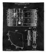 1900 Orchestra Drum Patent Fleece Blanket