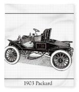 1903 Packard Fleece Blanket