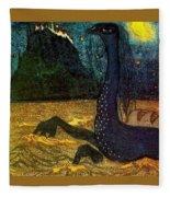 1907 Vasily Kandinsky Fleece Blanket