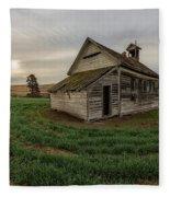 1910 Schoolhouse Fleece Blanket