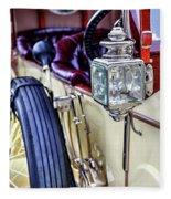1913 Rolls Royce Silver Ghost Detail Fleece Blanket